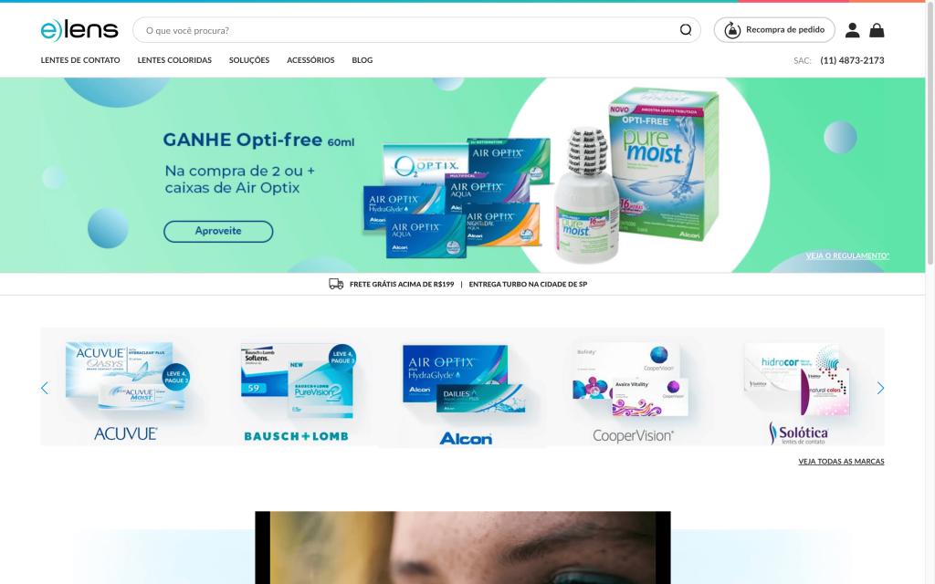 elens é um E-commerce Polinizador
