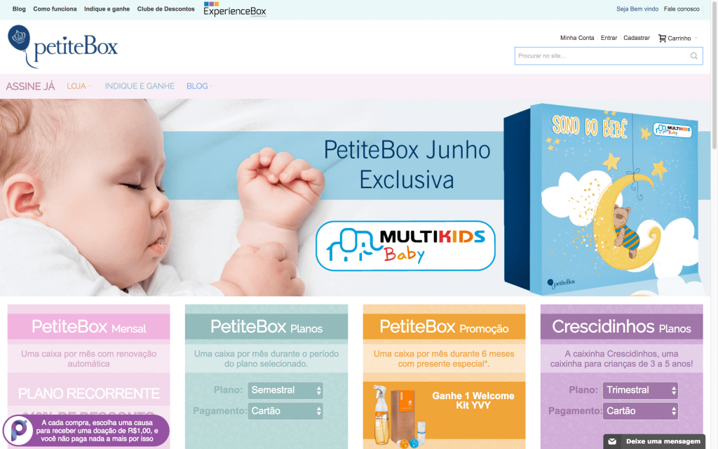 Petitebox é um E-commerce Polinizador