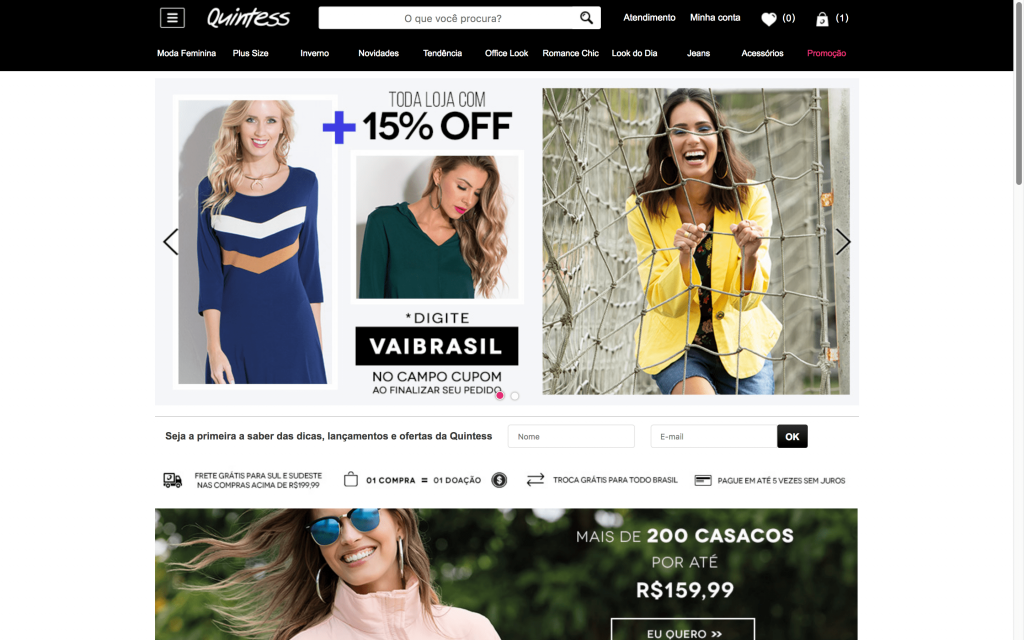 Quintess é um E-commerce Polinizador