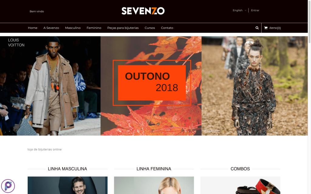 Sevenzo é um E-commerce Polinizador