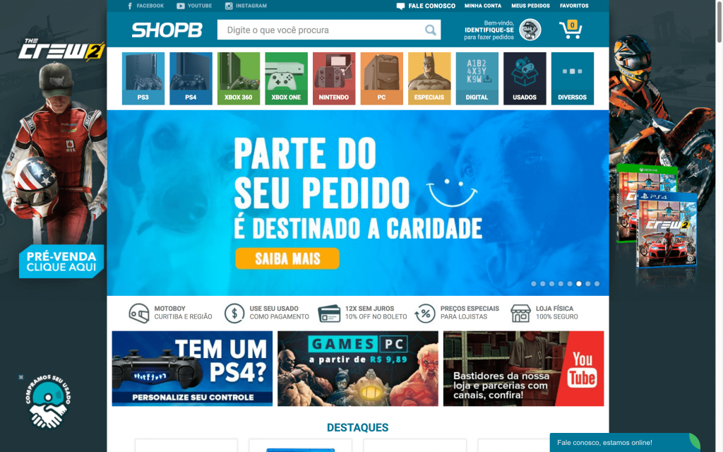 Shopb Petitebox é um E-commerce Polinizador