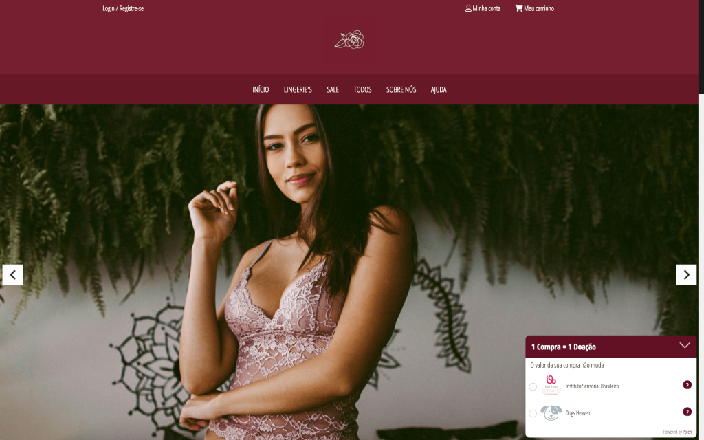 TrueBody é um E-commerce Polinizador